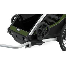 Thule Chariot Cab 2 Fietstrailer, olijf/groen